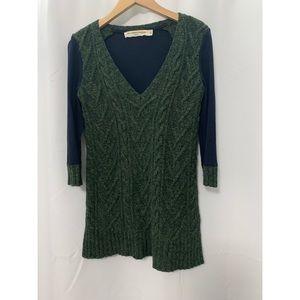 Anthropologie Pilcro Wool Green Sweater Size XS